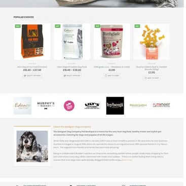 website-dog-ecommerce
